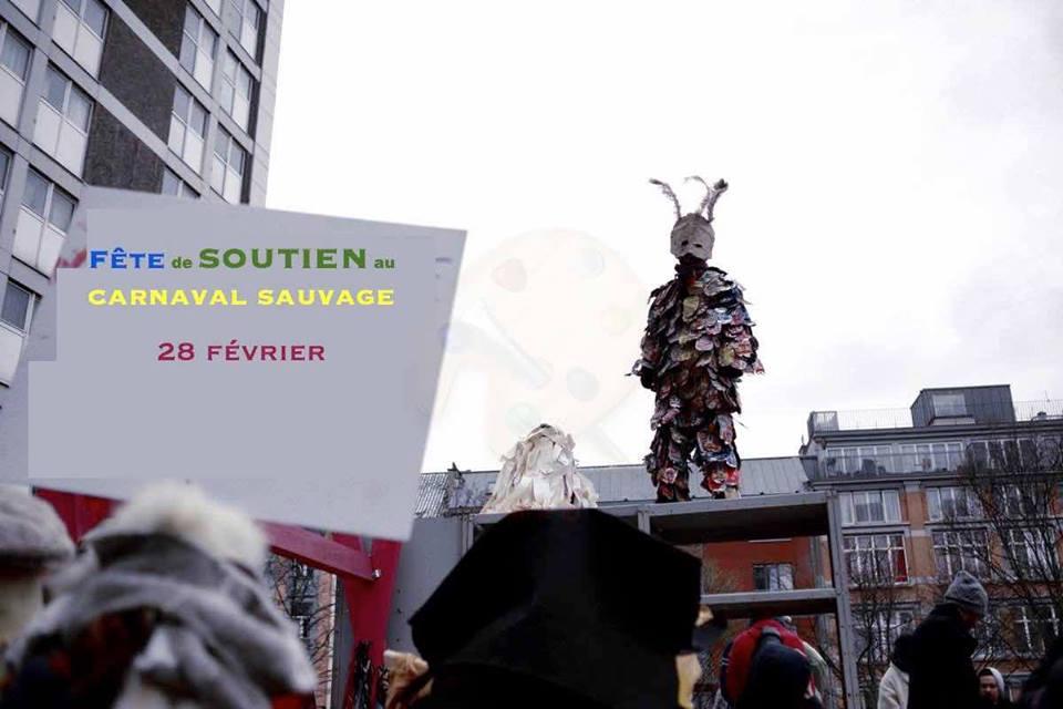 GAML en soutien au Carnaval Sauvage de Bruxelles
