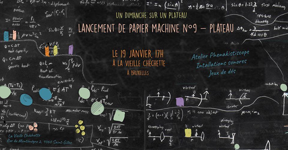 La Bidouille au Lancement de la Revue Papier Machine
