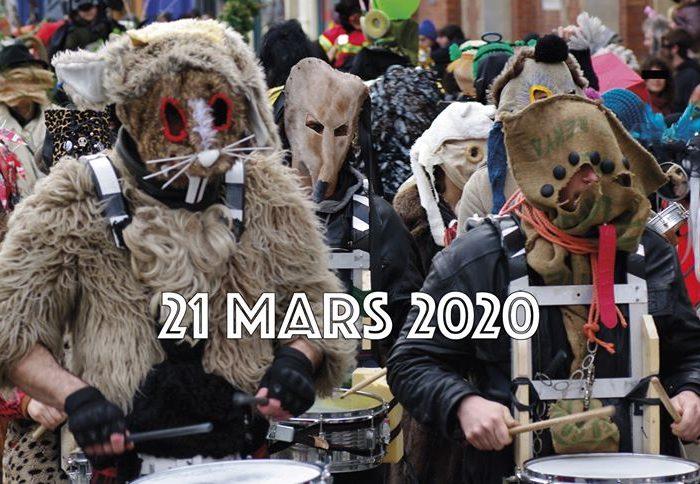 Micuicocola au Carnaval Sauvage 2020 de Bruxelles